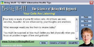 Being Well! software